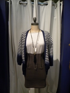 Striped Cardigan, Regularly Priced at $148