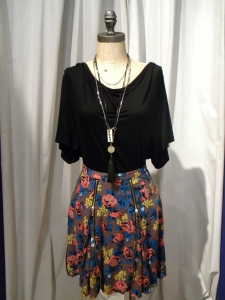 Floral Skirt, Regularly Priced at $150